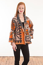 Flare Short Jacket #6 by Mieko Mintz (Size M (6-12), One of a Kind)