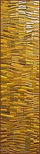 Gold Wave Banner by Tim Harding (Fiber Wall Art)