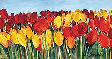 Red and Yellow Tulips by Sarah Samuelson (Giclee Print)