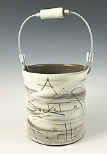Bucket of Faith by Noelle VanHendrick and Eric Hendrick (Ceramic Vessel)
