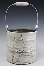 Bucket of Bliss by Noelle VanHendrick and Eric Hendrick (Ceramic Vessel)