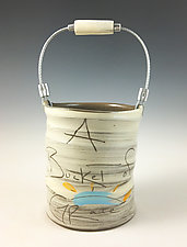 Bucket of Grace by Noelle VanHendrick and Eric Hendrick (Ceramic Vessel)