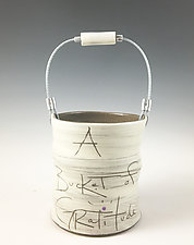 Bucket of Gratitude by Noelle VanHendrick and Eric Hendrick (Ceramic Vessel)