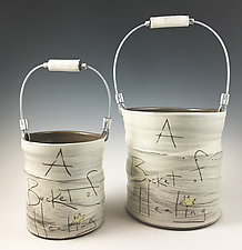 Bucket of Healing by Noelle VanHendrick and Eric Hendrick (Ceramic Vessel)