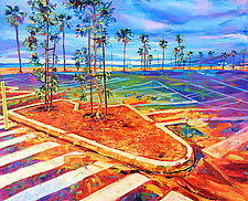 Paved Paradise by Bonnie Lambert (Oil Painting)