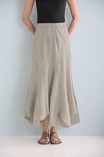 Linen Panel Skirt by Planet   (Linen Skirt)