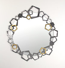 Penta Mirror by Ken Girardini and Julie Girardini (Metal Mirror)