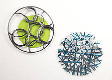 Spheres of Influence by Ken Girardini and Julie Girardini (Metal Wall Sculpture)