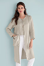 Positano Jacket by Heydari  (Linen Jacket)
