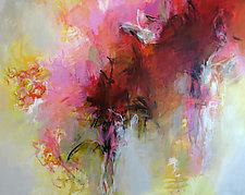 Acadian Garden by Debora  Stewart (Oil Painting)