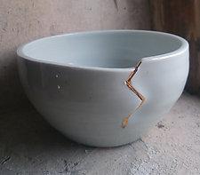 Kintsugi Bowl by Jared Jaffe (Ceramic Bowl)
