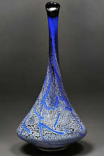 Illustrious Indigo by Eric Bladholm (Art Glass Vessel)