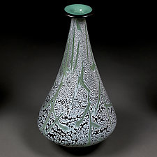 Jumping Juniper by Eric Bladholm (Art Glass Vessel)
