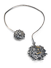 Shooting Star Collar by Lori Gottlieb (Gold, Silver & Stone Necklace)