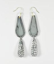 Gemma's Earrings by Lindsay Locatelli (Polymer Clay & Silver Earrings)