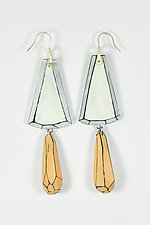 Stacy's Earrings by Lindsay Locatelli (Polymer Clay & Silver Earrings)