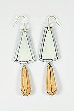 Stacy's Earrings by Lindsay Locatelli (Polymer Clay & Silver Earrings)