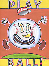 Play Ball! by Hal Mayforth (Giclee Print)