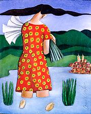 Flores Para Mi Pueblo by Armando  Adrian-Lopez (Giclee Print)