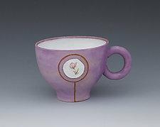Violet Magna-Mug by Gerard Ferrari (Ceramic Mug)
