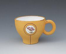 Orange Magna-Mug by Gerard Ferrari (Ceramic Mug)