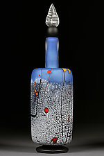 Mondrian's Muse by Eric Bladholm (Art Glass Bottle)