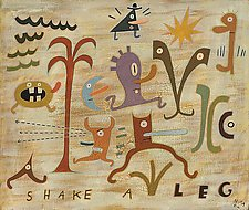 Shake a Leg by Hal Mayforth (Giclee Print)