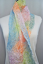 Threadwork Scarf 808 by Andi Shannon (Stitched Scarf)