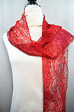 Threadwork Scarf 512 by Andi Shannon (Stitched Scarf)