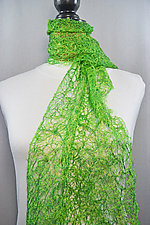 Threadwork Scarf 786 by Andi Shannon (Stitched Scarf)