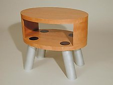 Satellite by Peter Loh (Wood & Metal Side Table)