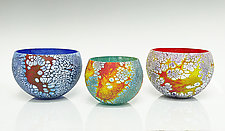 Elemental Bowls by David Royce (Art Glass Bowl)