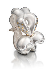 Sculptural Corinthian Bracelet by Shana Kroiz (Gold & Silver Bracelet)