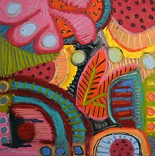 Slice of Life by Jeff  Ferst (Mixed-Media Painting)