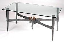 Magnolia Coffee table by Rachel Miller (Metal Coffee Table)