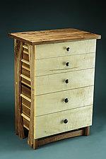 85 lb. Dresser by Todd  Bradlee (Wood Dresser)