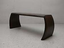 Flat Top Idea Long Bench/Table by Craig Siebeneck (Wood Bench)