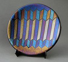 The Stairs by Sabine  Snykers (Art Glass Platter)
