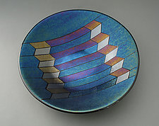 Direction by Sabine  Snykers (Art Glass Bowl)