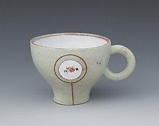 Green Magna-Mug by Gerard Ferrari (Ceramic Mug)