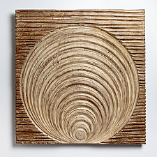 Within by Kipley Meyer (Wood Wall Sculpture)