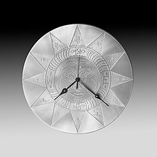 Good Morning Sunshine by Evy Rogers (Metal Clock)