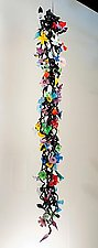 Hanging Garden by David Van Noppen (Art Glass Sculpture)