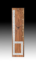 Six O'Clock by Evy Rogers (Wood Clock)