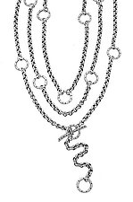Wrap Necklace by Jodi Brownstein (Silver Necklace)