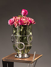 Jubilee Vase by Ken Girardini and Julie Girardini (Metal Vase)