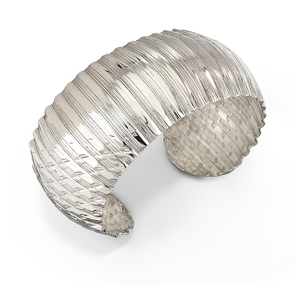 Rippled Domed Cuff