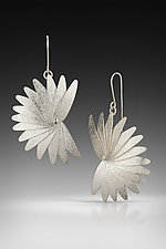 Crow Earrings by Jennifer Chin (Silver Earrings)