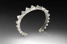 Fossil Cuff by Jennifer Chin (Silver Bracelet)