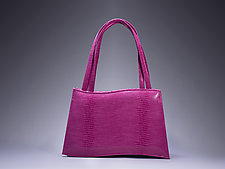 Annabelle Sculpted Handbag by Michelle  LaLonde  (Leather Purse)
